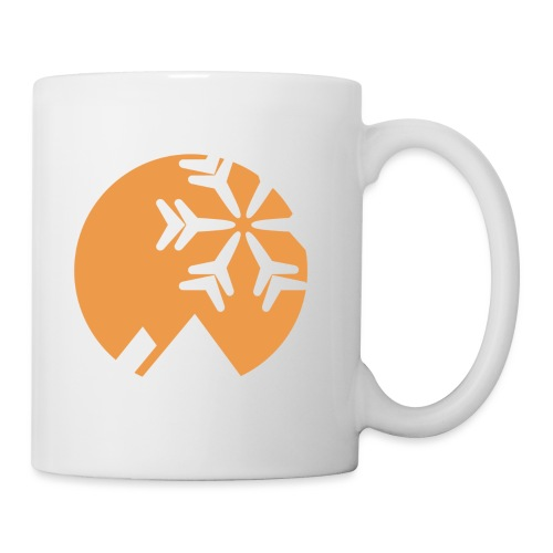 OpenSnow Negative Badge - Coffee/Tea Mug
