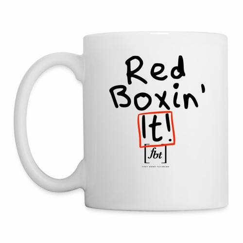 Red Boxin' It! [fbt] - Coffee/Tea Mug