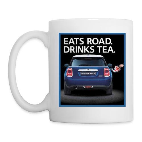 Eats road drinks tea - Coffee/Tea Mug