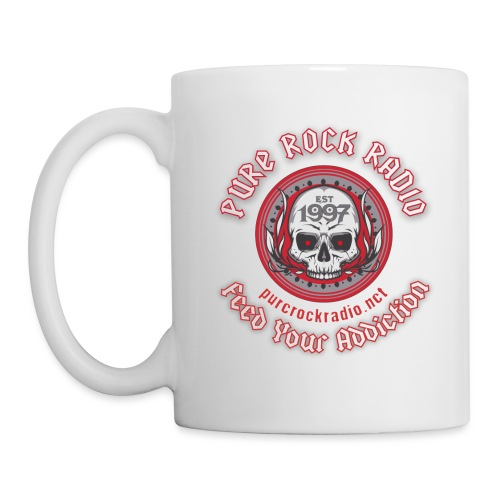 PRR Molenoise Skull (Front) + Circle Logo (Back) - Coffee/Tea Mug