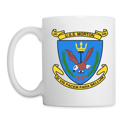 USS MORTON DD 948 CREST - Coffee/Tea Mug