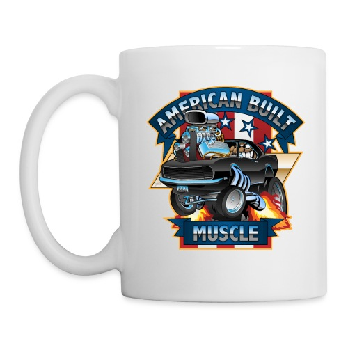 American Built Muscle - Classic Muscle Car Cartoon - Coffee/Tea Mug