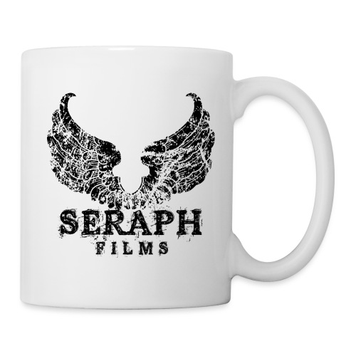Seraph Logo Square Black png - Coffee/Tea Mug