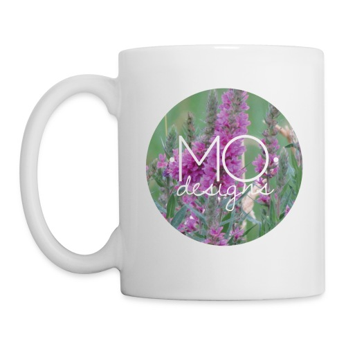 •MO• designs Purple Logo - Coffee/Tea Mug