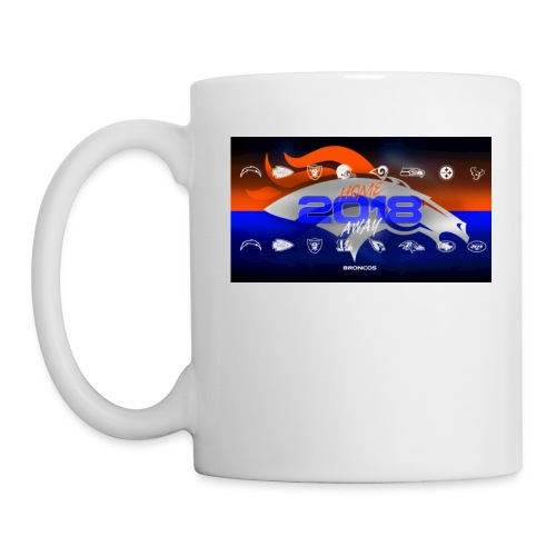 2018 Broncos Schedule - Coffee/Tea Mug