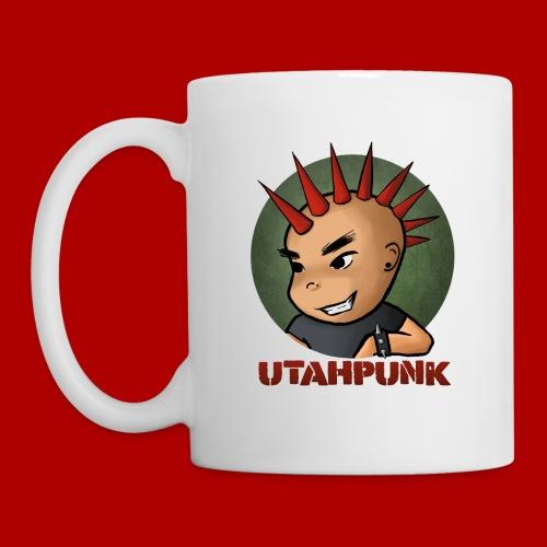 Utahpunk Logo - Coffee/Tea Mug