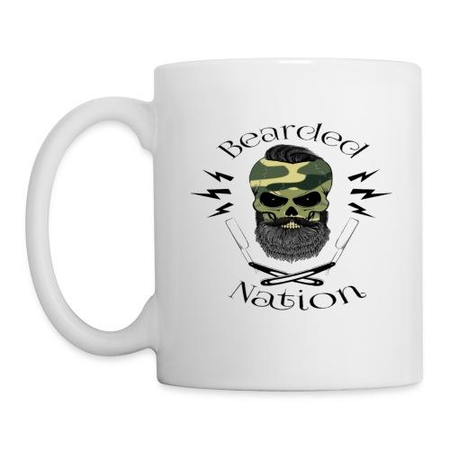 Camo BN Skull - Coffee/Tea Mug