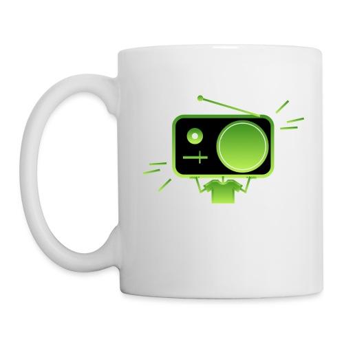 MusiqHead Green Ver 3 - Coffee/Tea Mug