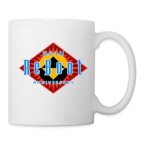 ReBoot Logo Anniversary cc - Coffee/Tea Mug