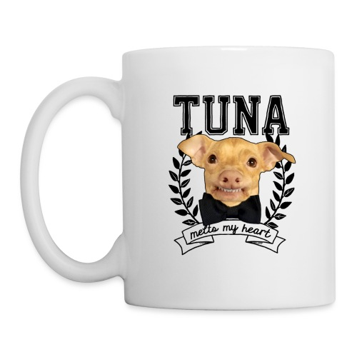 bowtie tuna outline 3 00 - Coffee/Tea Mug