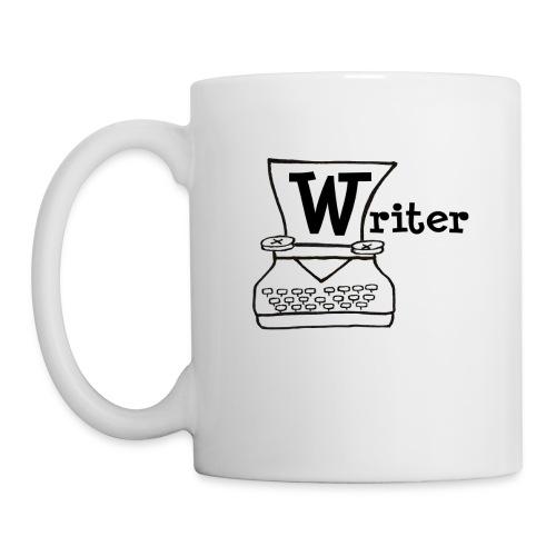 Writer Logo Black - Coffee/Tea Mug