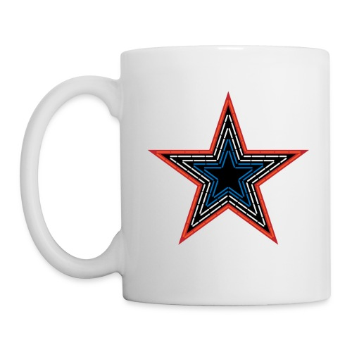 Roanoke Virginia Pride Mill Mountain Star - Coffee/Tea Mug