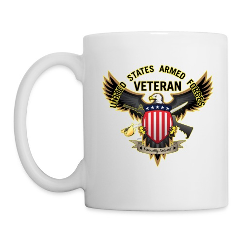 United States Armed Forces Veteran, Proudly Served - Coffee/Tea Mug