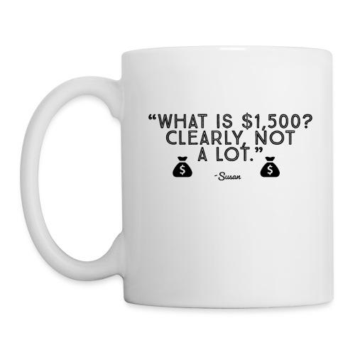Clearly, Not a lot. (Black) - Coffee/Tea Mug