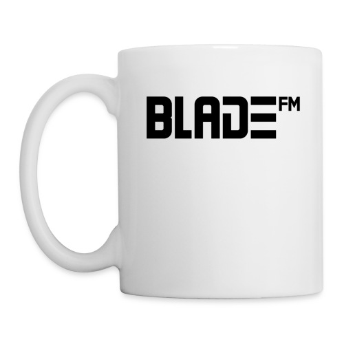 Black BladeFM Logo - Coffee/Tea Mug