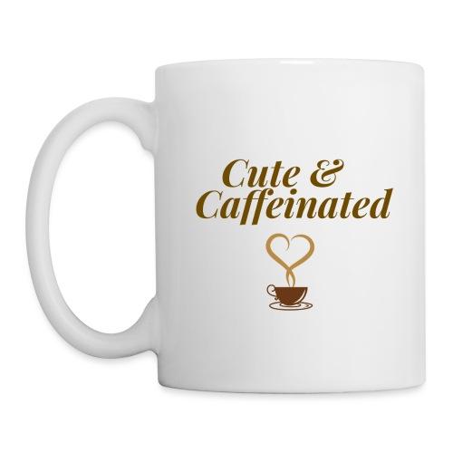 Cute & Caffeinated Women's Tee - Coffee/Tea Mug