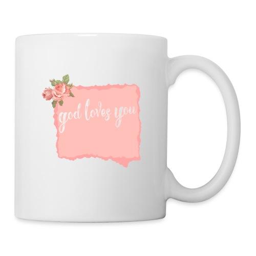 God Loves You - Coffee/Tea Mug