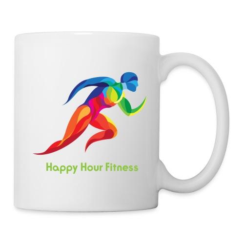 HHF_runningmanandlogotype - Coffee/Tea Mug