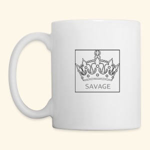 Savage Crown - Coffee/Tea Mug