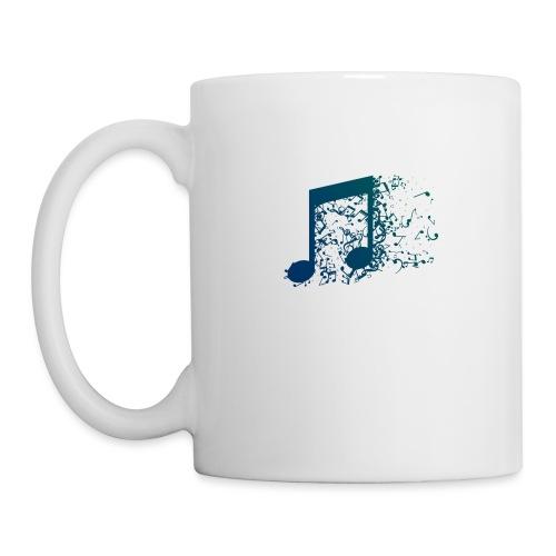 Music note spill - Coffee/Tea Mug