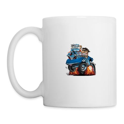 Classic '69 American Sports Car Cartoon - Coffee/Tea Mug