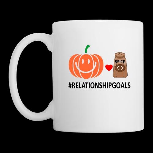 Relationship Goals | Caffeinated Love - Coffee/Tea Mug