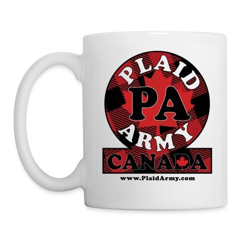 Plaid Army Canada - Coffee/Tea Mug