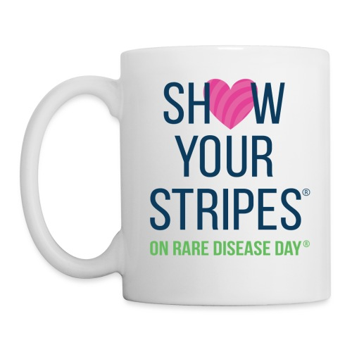 Show Your Stripes for Rare Disease Day! - Coffee/Tea Mug