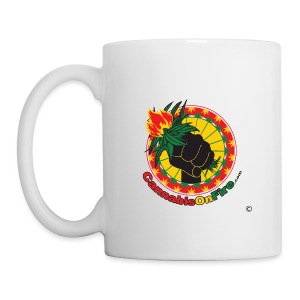 Cannabis On Fire 420 Power - Coffee/Tea Mug
