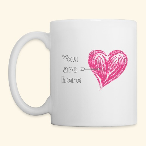 You are here - Coffee/Tea Mug