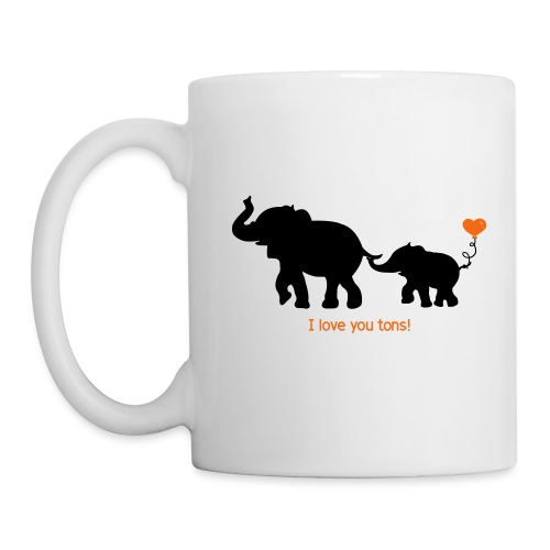 I Love You Tons! - Coffee/Tea Mug