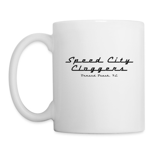 SCC in Black - Coffee/Tea Mug