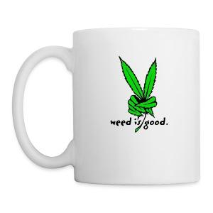 Marijuana Leaf Peace - Coffee/Tea Mug