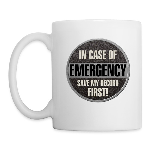 case record - Coffee/Tea Mug
