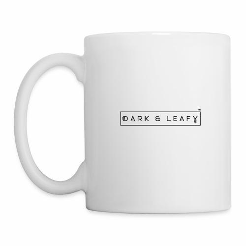 Dark & Leafy Logo - Black - Coffee/Tea Mug