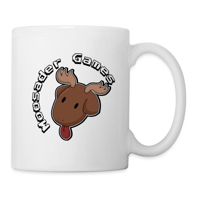 Circle text moose head png