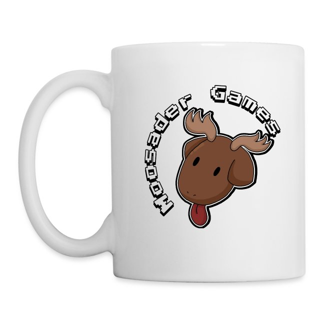 Circle text moose head png