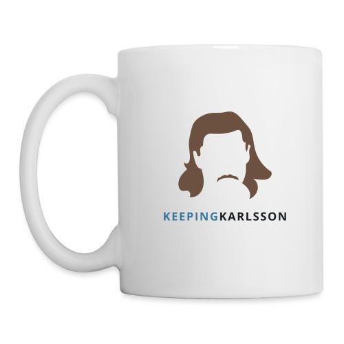 Keeping Karlsson Logo Transparent brown - Coffee/Tea Mug
