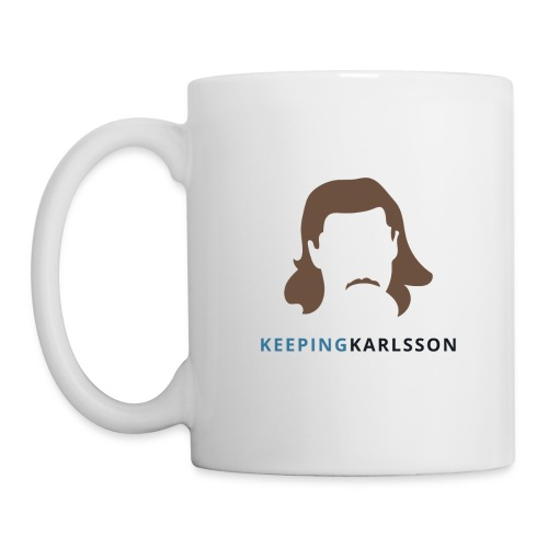Keeping Karlsson Logo Transparent brown - Coffee/Tea Mug