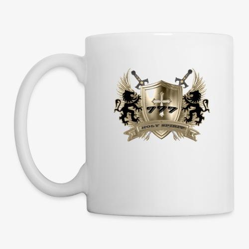 HOLY SPIRIT GOLD SHIELD - Coffee/Tea Mug