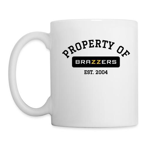 Property of Brazzers logo solid - Coffee/Tea Mug