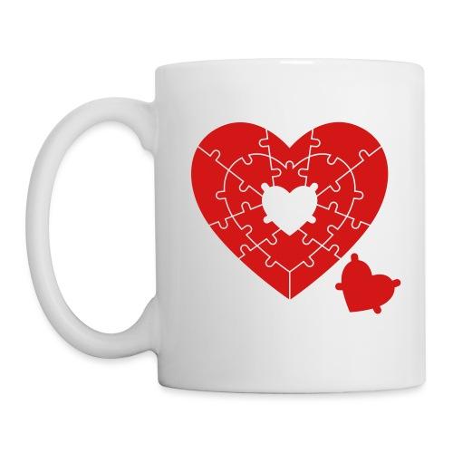 Heart Puzzle - Coffee/Tea Mug