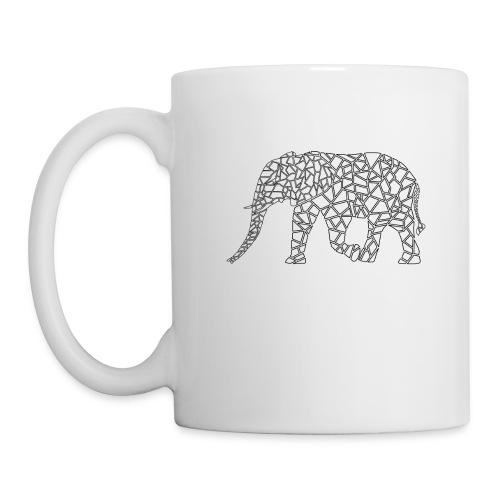 Elephant Geometric - Coffee/Tea Mug