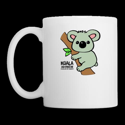 Koala Cute. Art by Paul Bass, assisted by Mollie. - Coffee/Tea Mug