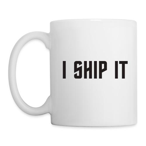 I Ship It Trek Shirt - Coffee/Tea Mug