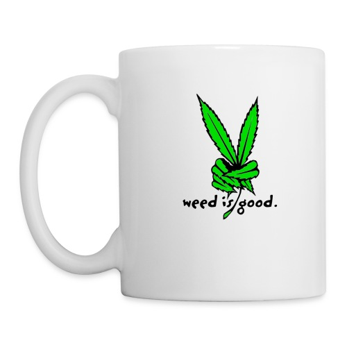 Marijuana Leaf Peace - Coffee/Tea Mug