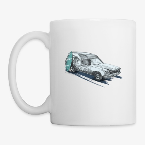 Surfin' Panel Van - Coffee/Tea Mug