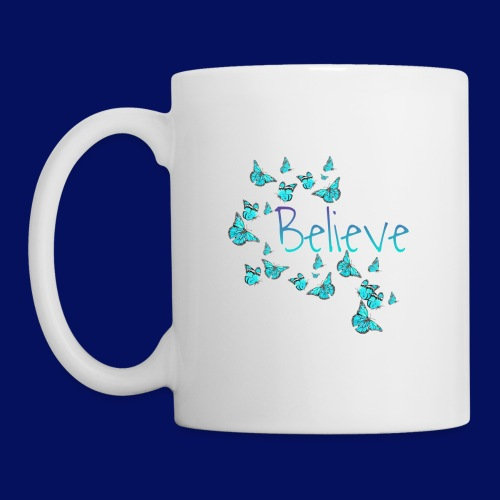Believe Butterfly Design - Coffee/Tea Mug