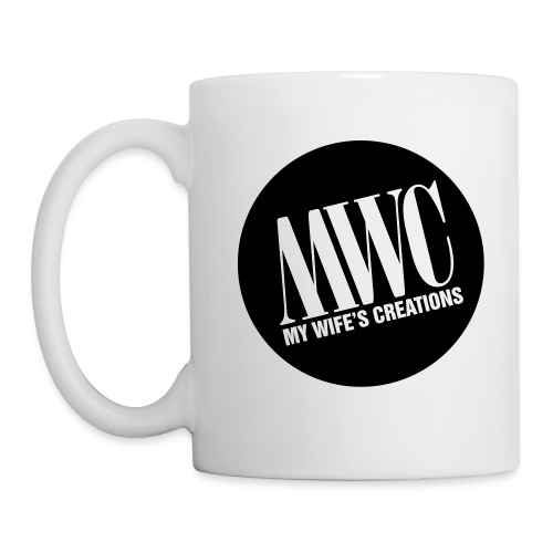My Wife's Creations actual logo - Coffee/Tea Mug