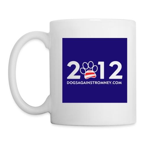 spreadshirt mug 2012 blue big - Coffee/Tea Mug